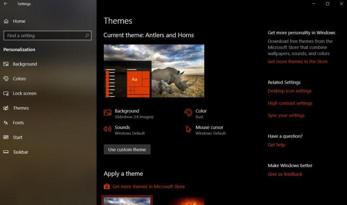 Windows 10 theme pack