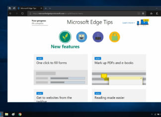 Microsoft Edge features