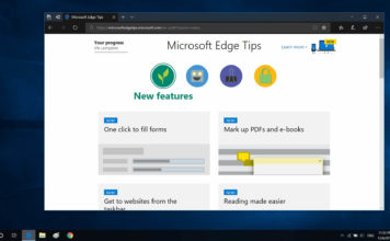 Microsoft Edge features
