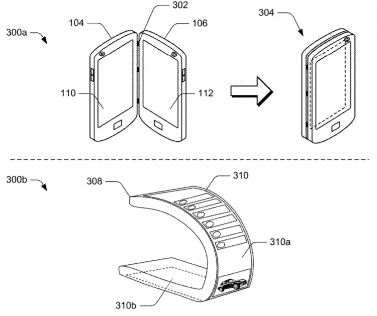 Microsoft patent for dual screen