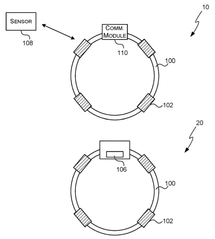 Microsoft wearable patent