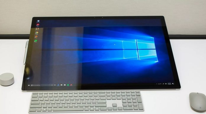 Windows 10 device