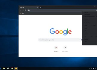 Dark mode in Google Chrome
