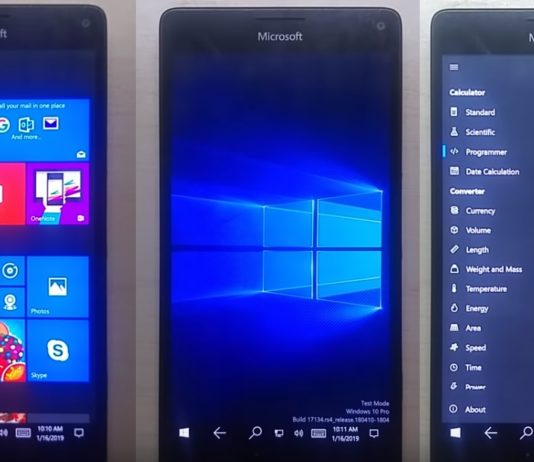 Lumia 950 XL and W10ARM