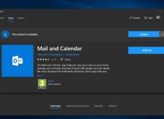 Mail app in Windows 10