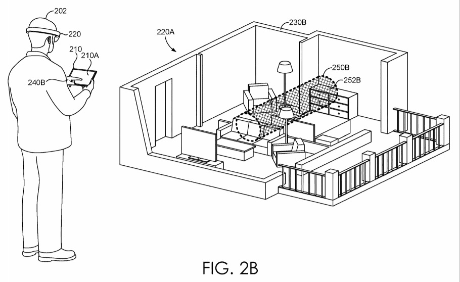 Mixed reality patent annotation