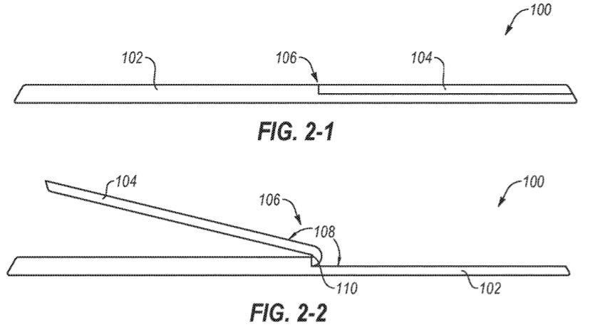 Patent for kickstand
