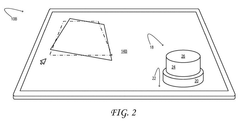 Surface Dial patent