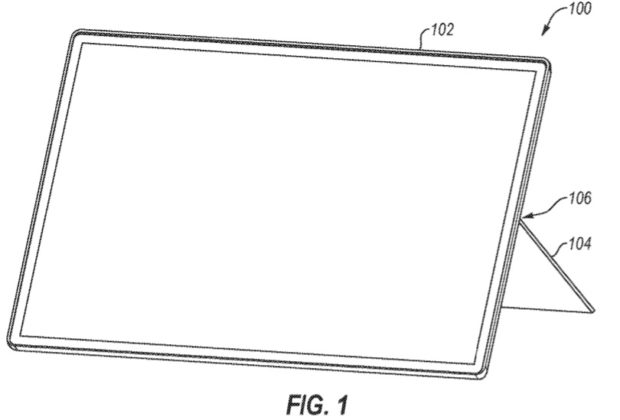 Surface Kickstand patent