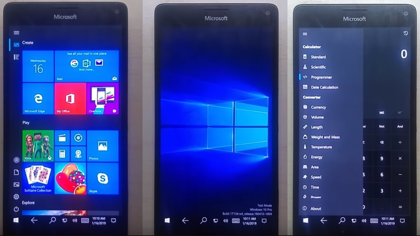 You can install Windows 10 ARM on Lumia 950/XL with new third-party tool