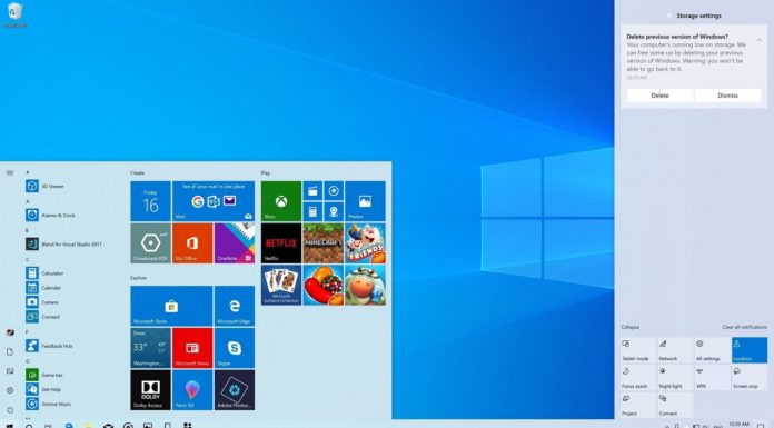 Windows 10 April 2019 Update featured