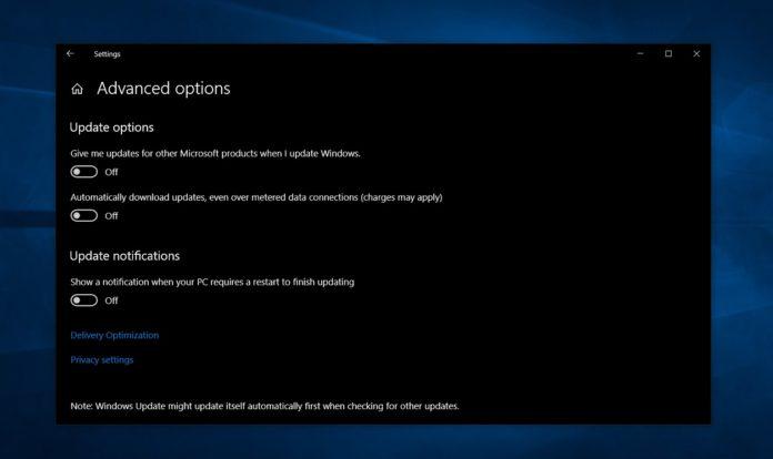 Windows 10 Home Updates