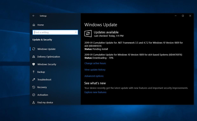 Direct Download links for KB4476976 Windows 10 Build 17763 292