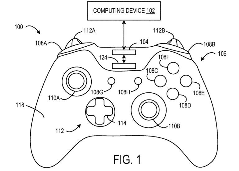 Xbox controller patent part 2