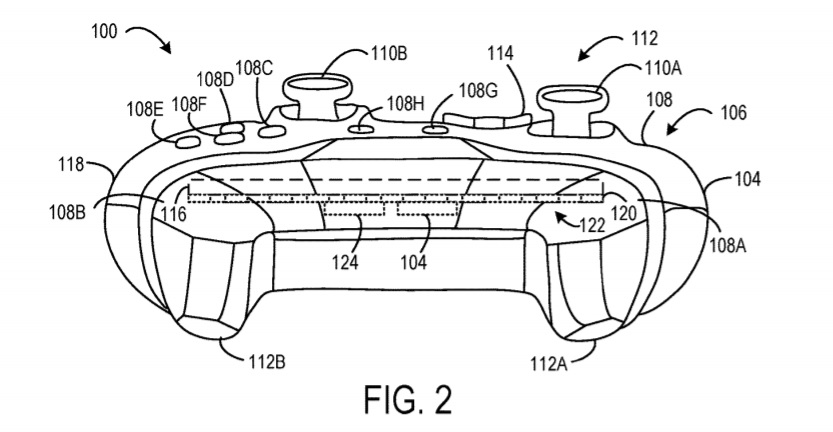 Xbox controller patent