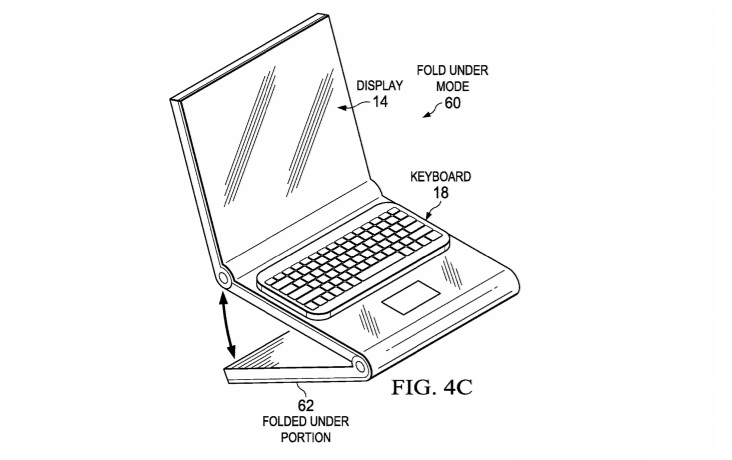 Dell foldable patent