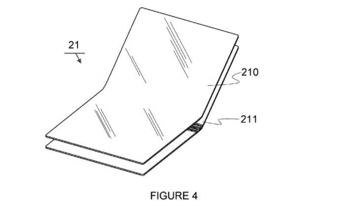Microsoft bendable patent