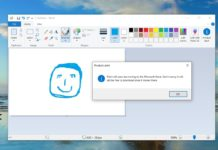 Paint in Windows 10