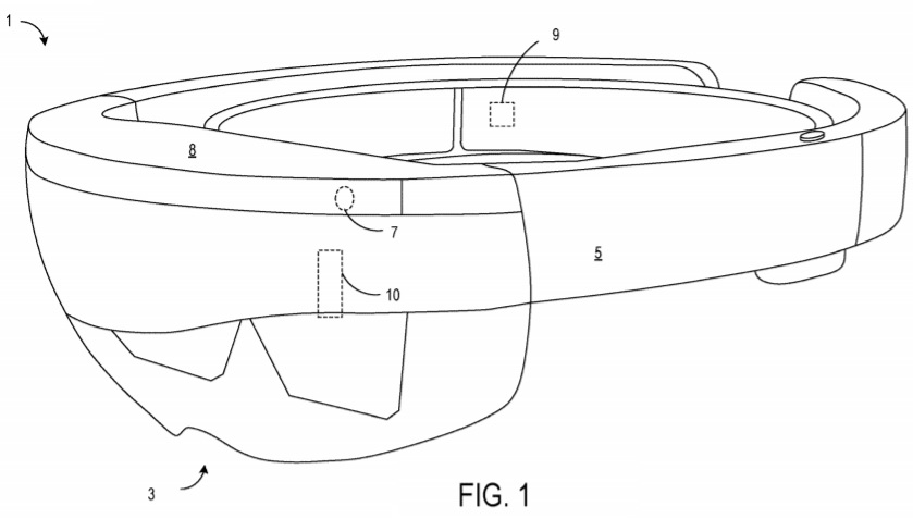 Patent for HoloLens