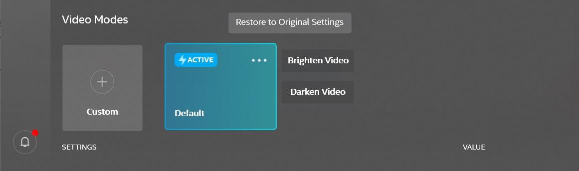Graphics Control app