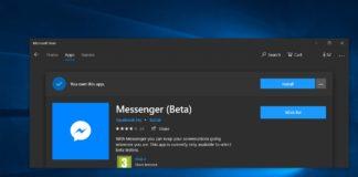 Messenger beta