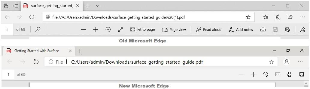 Lettore Microsoft Edge PDF