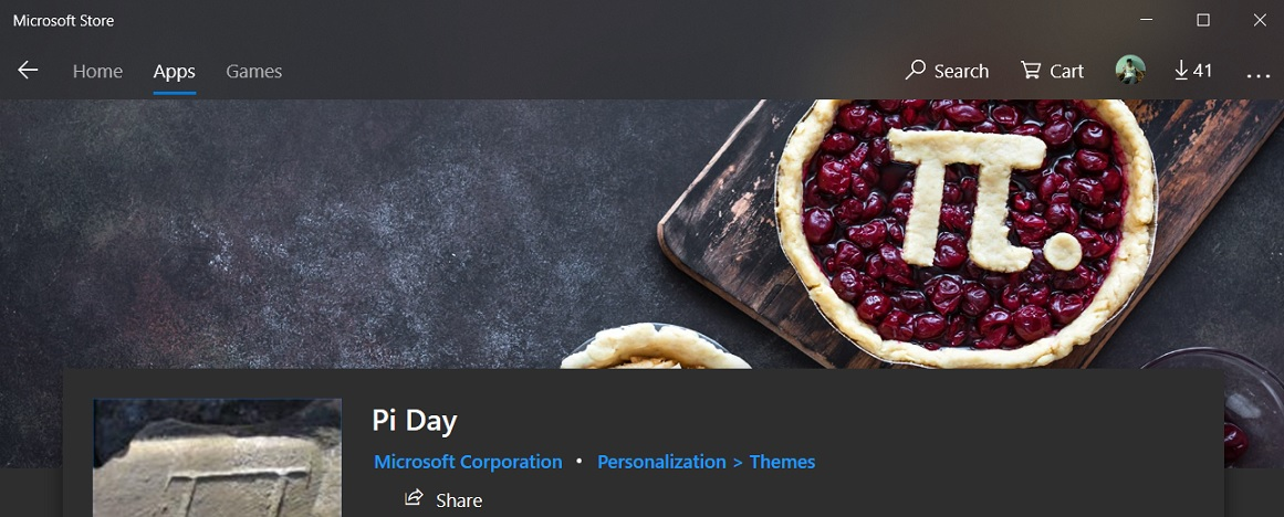 Pi Day Store