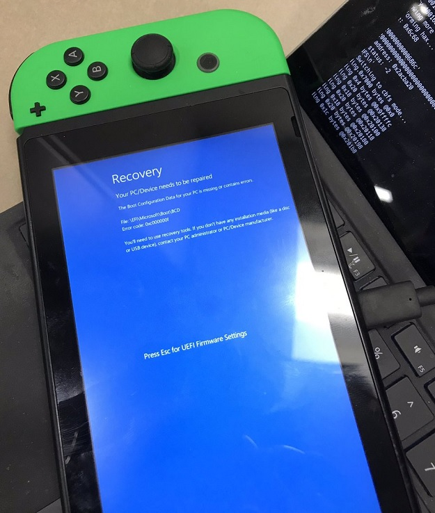 Windows 10 on Switch