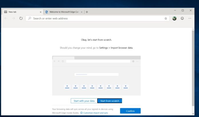 Chromium Edge for Windows