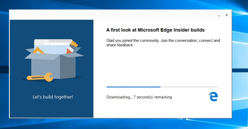 Chromium Edge installer