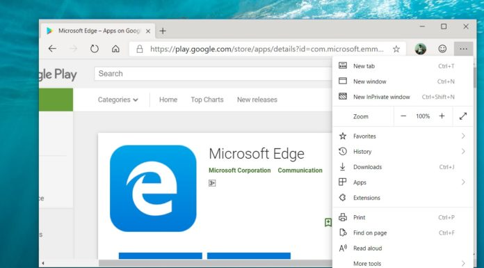 Microsoft Edge for PC