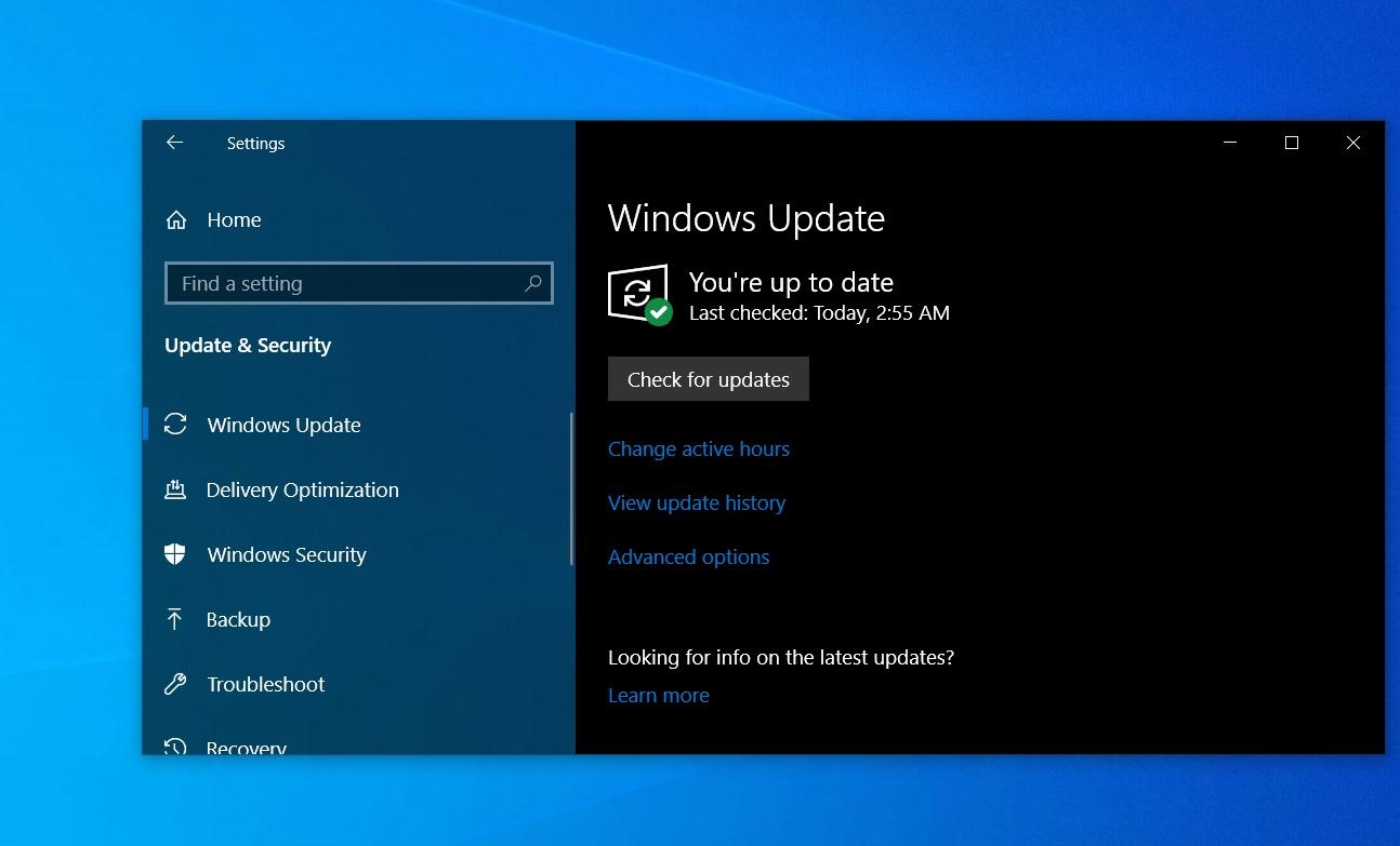 Windows 10 version 1903, version 1803 receives new