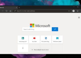 Edge on desktop