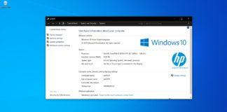 Windows 10 system specs