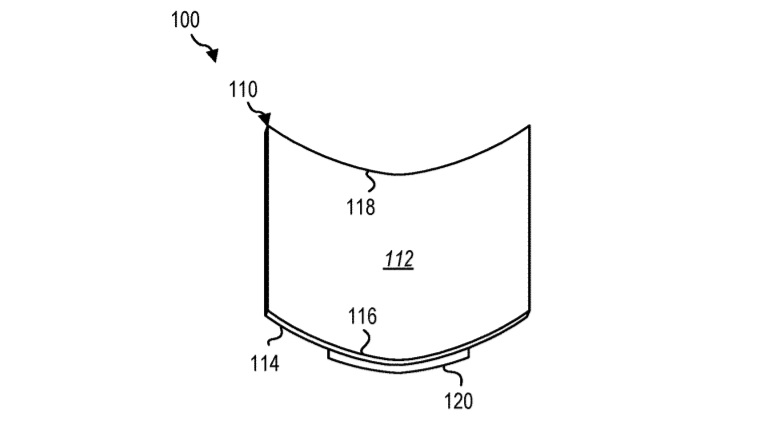 Foldable display patent