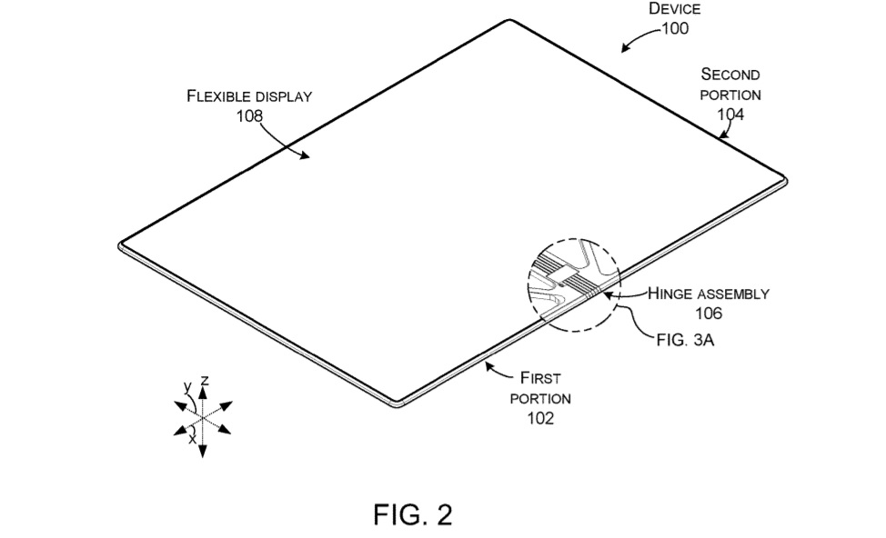 Microsoft foldable design