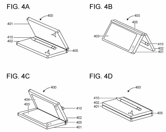 Microsoft pen patent