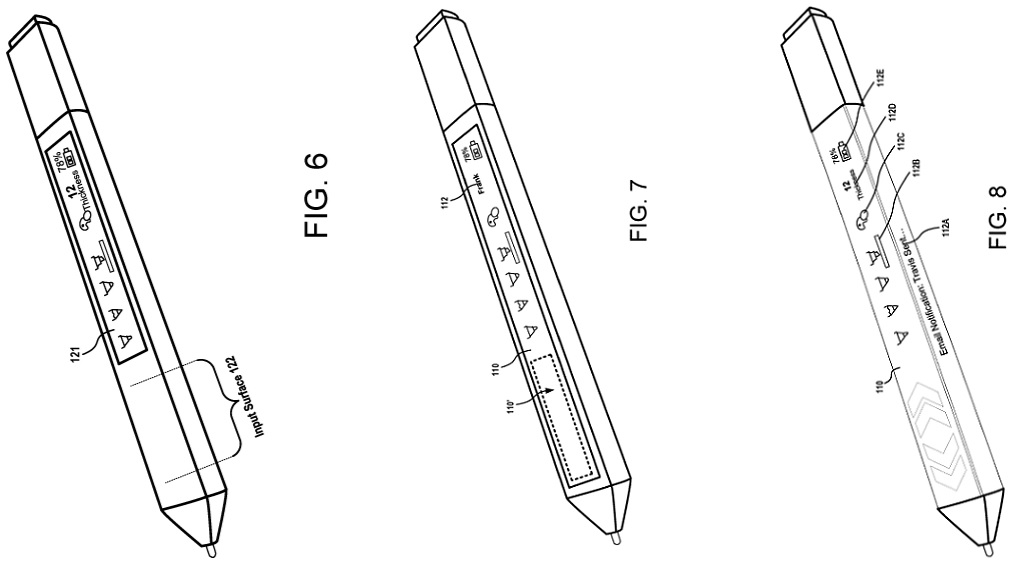 Surface Pen patent