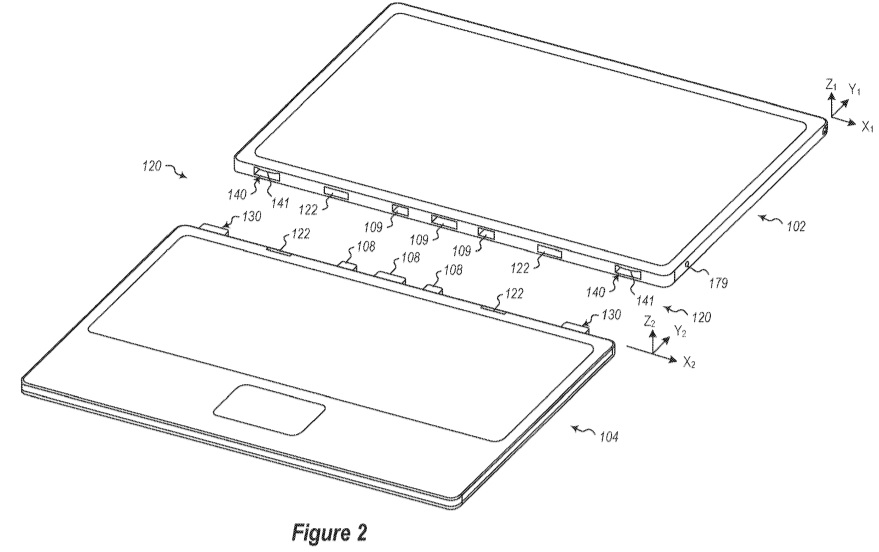 Surface Pro locking patent