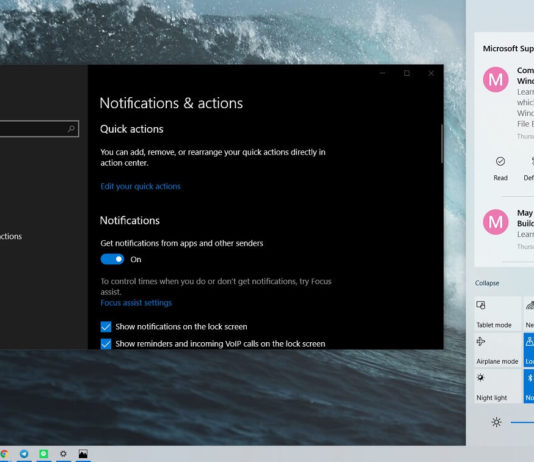 Windows 10 20H1 features