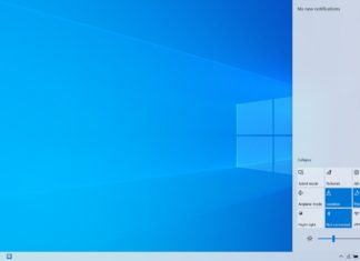 Windows 10 light desktop