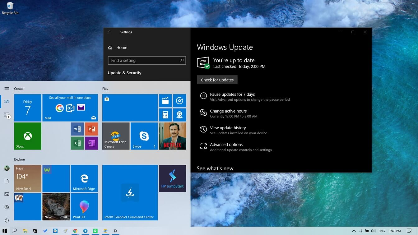 Windows 10 May 2019 Update is now available for more users