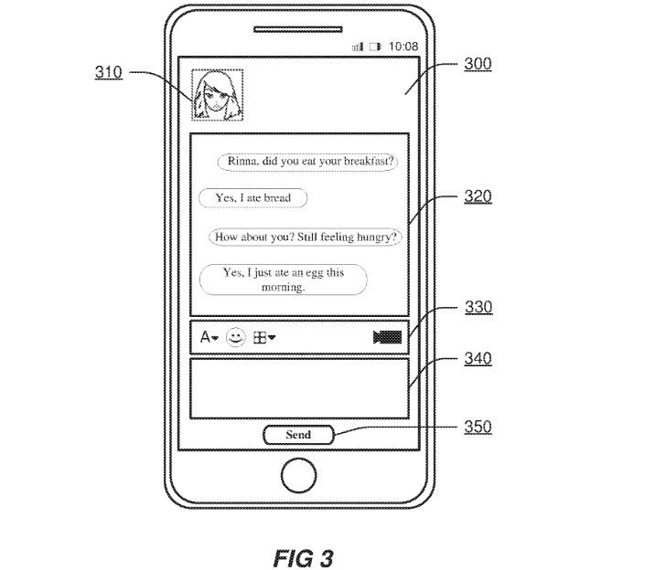Cortana patent