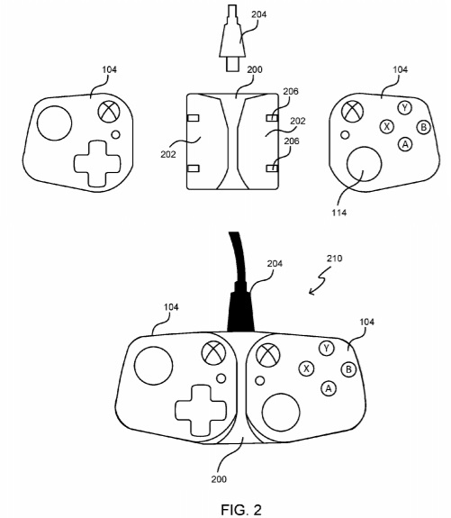 Input controllers patent
