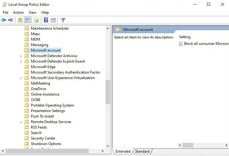 Microsoft Defender Group Policy