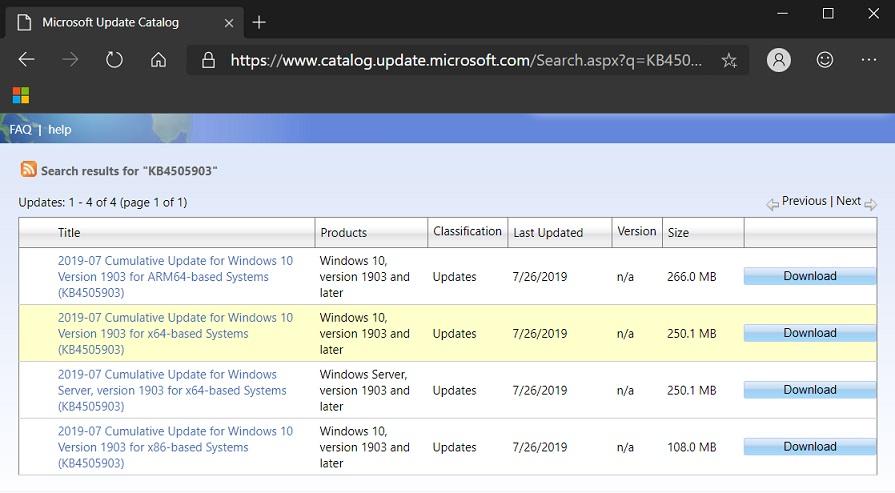 Cara Manual Mengunduh Dan Menginstal Pembaruan Kumulatif Windows 10