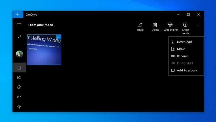 OneDrive for Windows 10