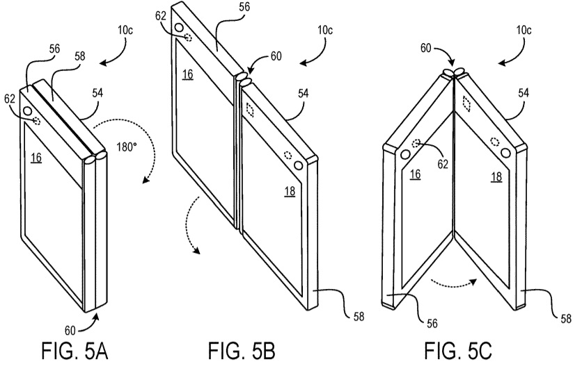 Patent for foldable PC