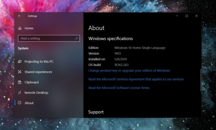 Windows 10 July update