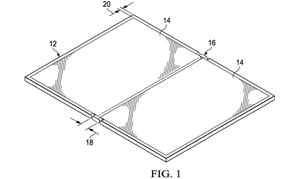 Dell narrow hinge patent